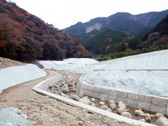 岩の谷川河川災害復旧工事に伴う付帯工事(和歌山県)