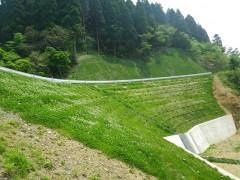 作業道宮の尾線災害復旧工事(佐賀県)