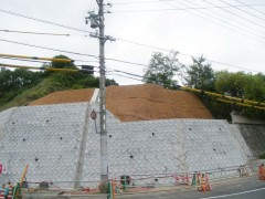 本山鵜飼線(その10)道路改良工事(広島県)