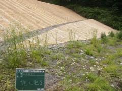大山砂防三の沢砂防堰堤第3工事(鳥取県)