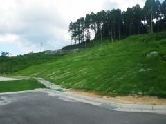 八女東部スポーツ公園法面保護工事(福岡県)