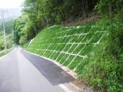 下鹿川・菅原線道路改良工事(宮崎県)