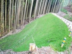 平成25年度道整備事業 林道塩塚栗山線開設工事(徳島県)
