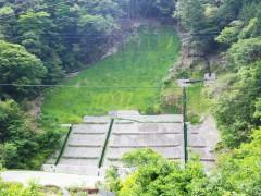 山地災(県営)第11号 払川山地災害防止工事(高知県)