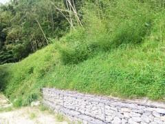 怡土城跡保存修理工事(福岡県)