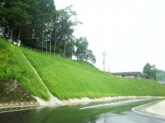 平成26年度大口中央中学校入口改良工事(1工区)(鹿児島県)
