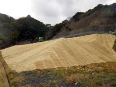 高知自動車道 針木地区のり面災害復旧工事(高知県)
