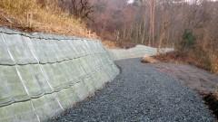林業専用道規格相当陣山線開設工事(島根県)