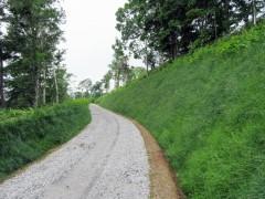 森林管理道上泉線開設工事(北海道)