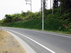 市道丸木舞川線道路改良舗装(第6工区)工事(岩手県)