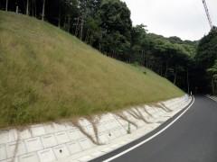 市道大内山上畑下線道路改良工事(山口県)