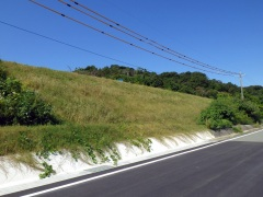 山口市一般廃棄物最終処分場建設に伴う工事用道路撤去工事(山口県)
