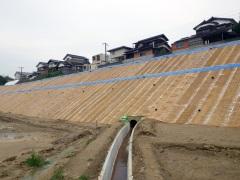 岩徳線7月豪雨災害復旧工事(山口県)
