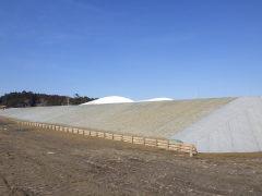 防災林造成2901工事 浪江地区(福島県)