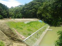ため池整備事業(危険ため池)馬超上・下地区(宮崎県)