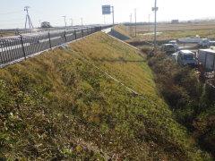 閖上南北線道路舗装工事(その1)(宮城県)