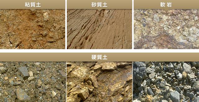 土質を調べる